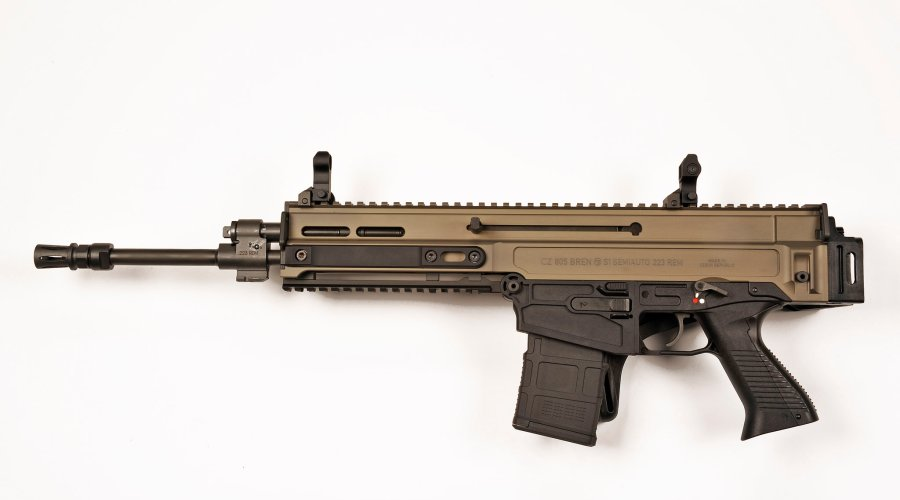 CZ-805 BREN S1 semi-automatic rifle