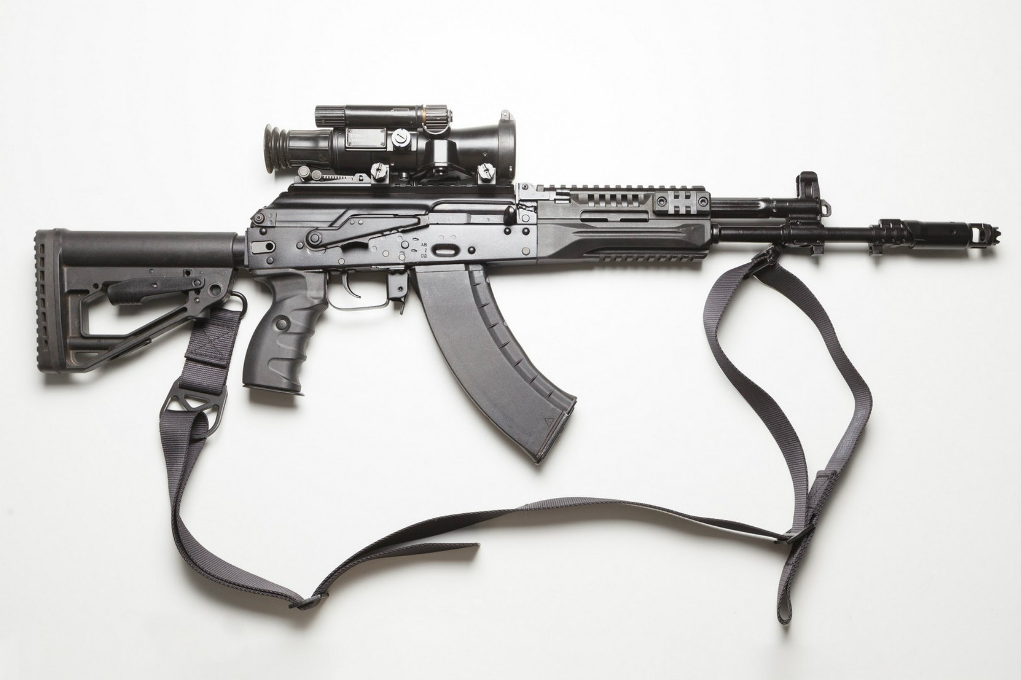 New AK-12 assault rifle right side view
