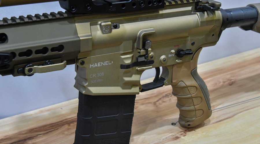 The new AR style rifle CR 308 rifle from Haenel