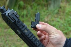 Loading lever of the HK 433 assault rifle from Heckler & Koch