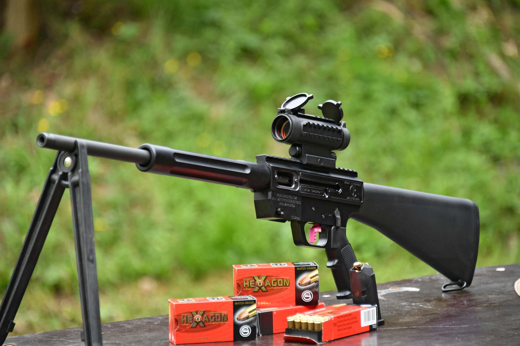 Just Right Carbine,: Shooting test: Gen3 Sporter Pistol-caliber carbine by Just Right Carbines