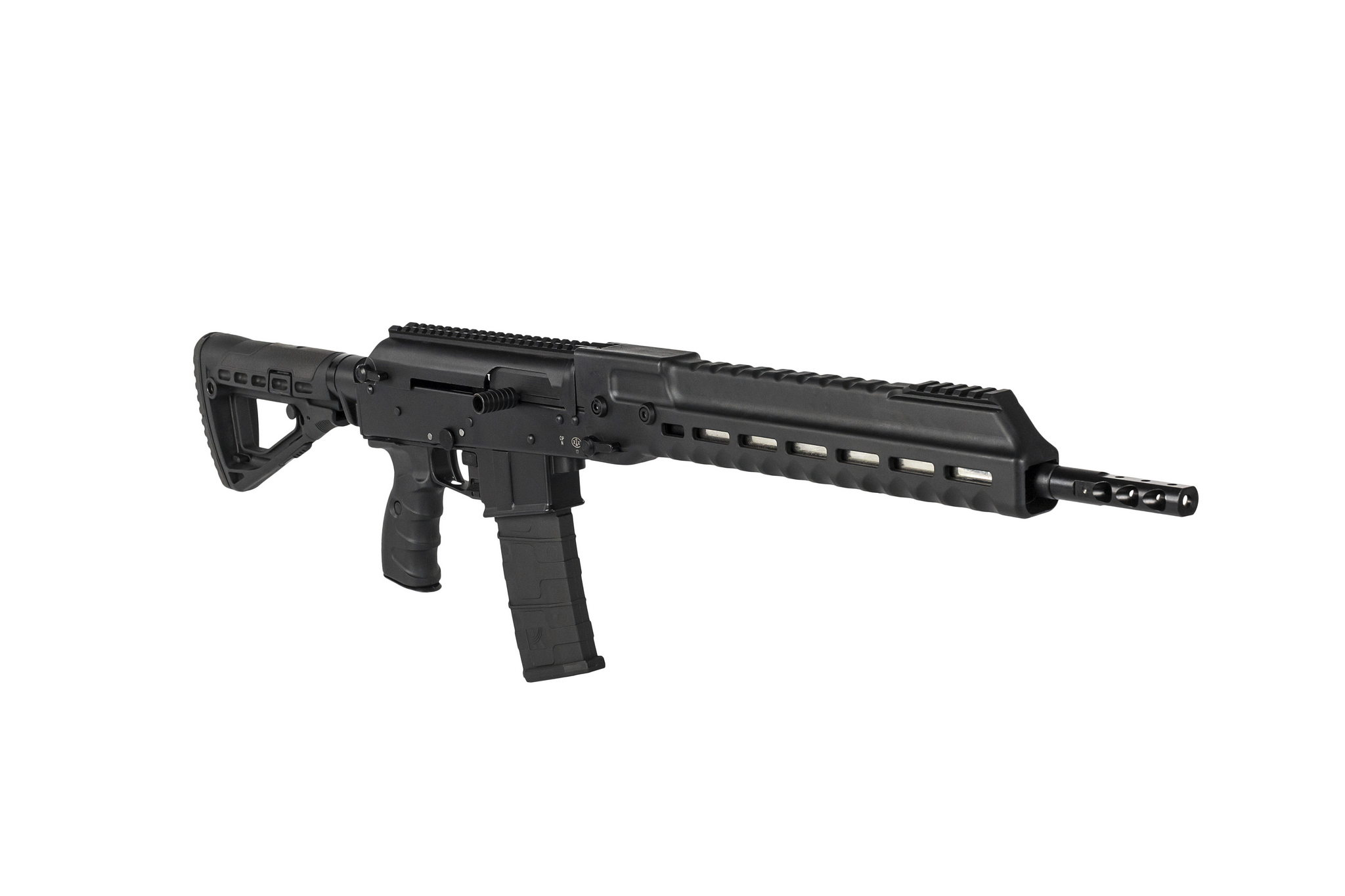 Kalashnikov SR1 semi-automatic rifle for competition shooters