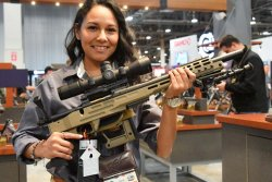 Presentation of the the new precision rifles SRC II at SHOT Show 2018