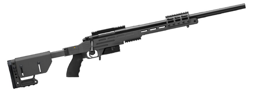 The Kimber SRC II, rifle .308 Win