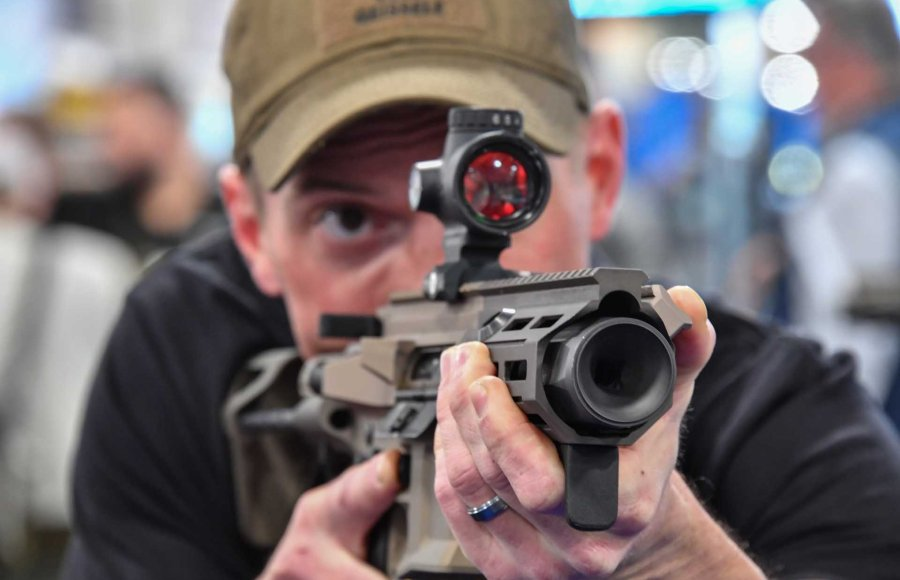 The new Maxim Defense PDX is a sub-compact Personal Defense Weapon at SHOT Show.