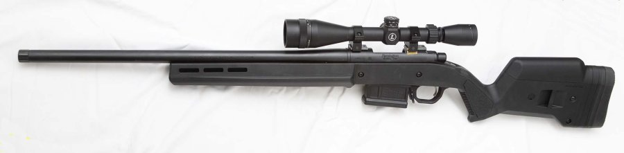 The Remington 700 Magpul, left side view