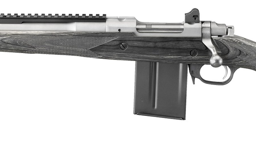 Ruger Gunsite Scout Rifle, now available in 5,56x45mm caliber