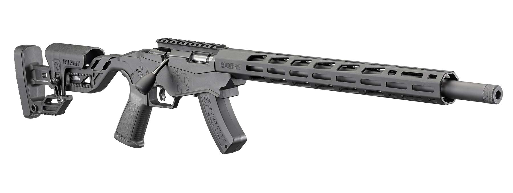 Right view of the Ruger Precision Rimfire rifle