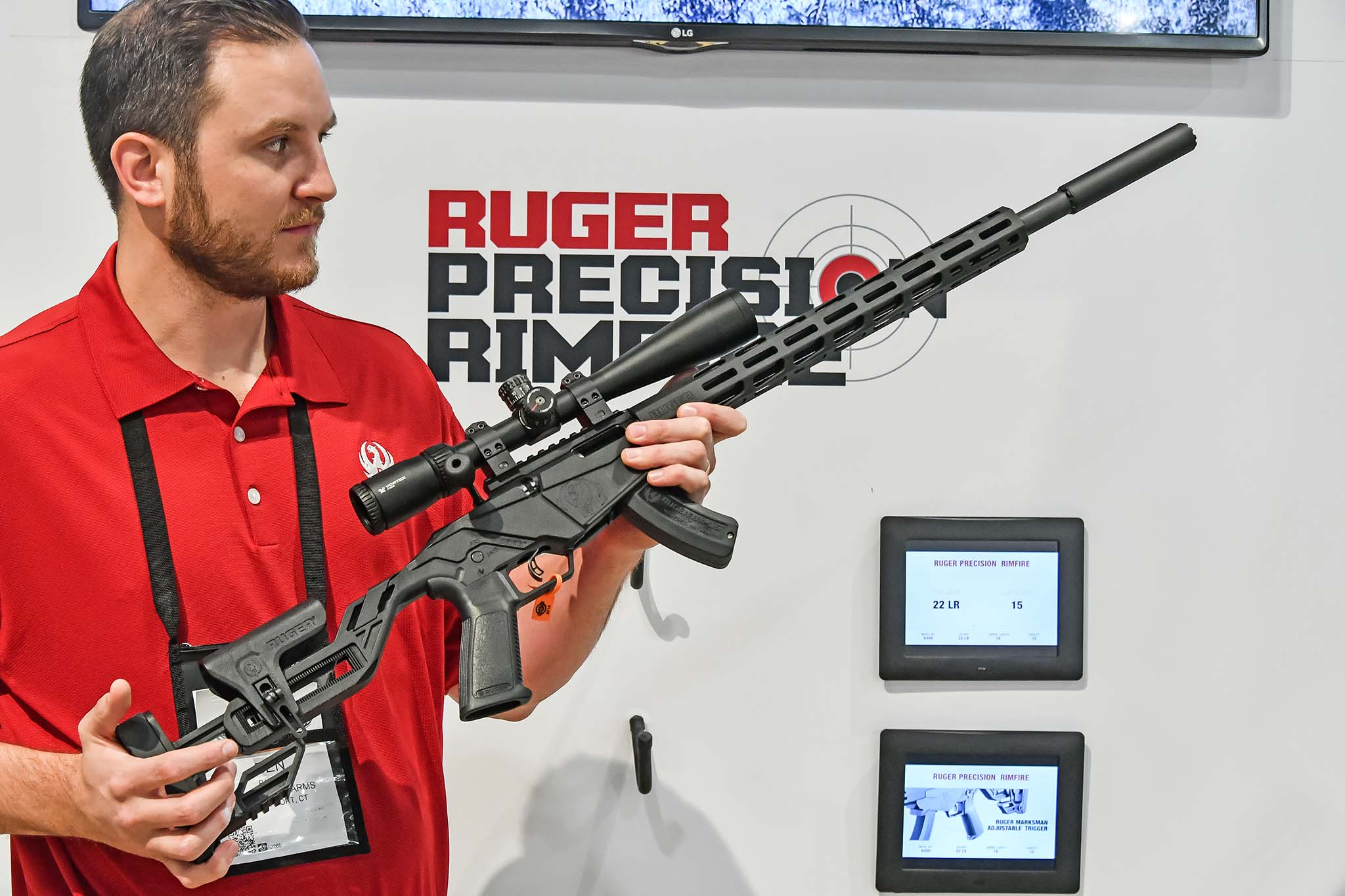The new Ruger .22 LR  Precision Rimfire Rifle