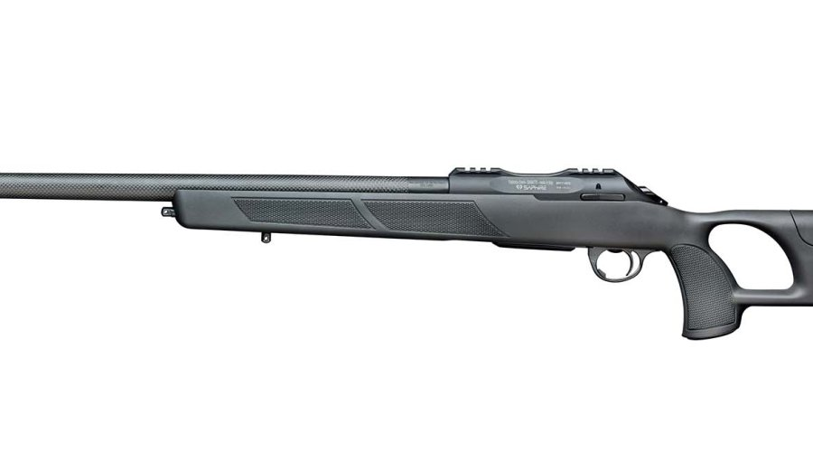 Sabatti Saphire Carbon Varmint rifle left side view