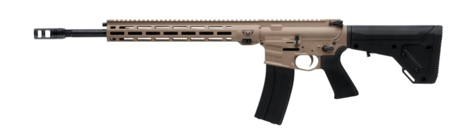 Left side of the Savage MSR 15 rifle in 224 Valkyrie