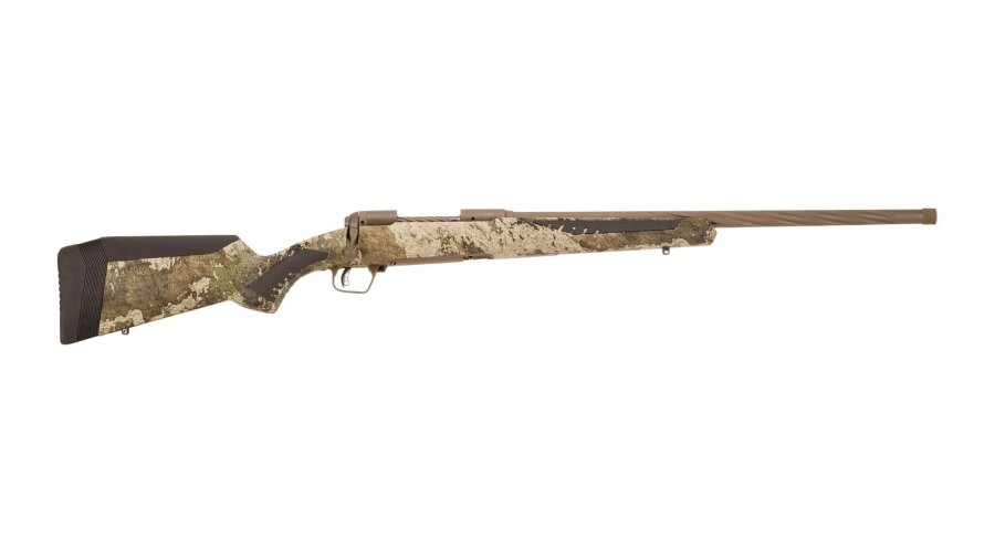 Savage 110 High Country in right side view.