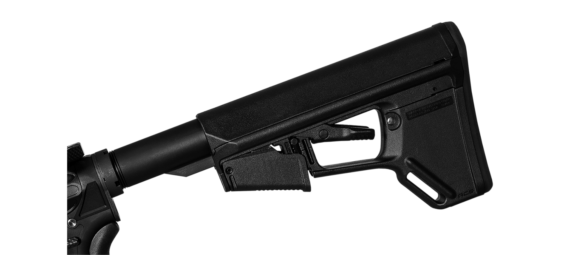Magpul ACS-L stock of the NX3G rifle.