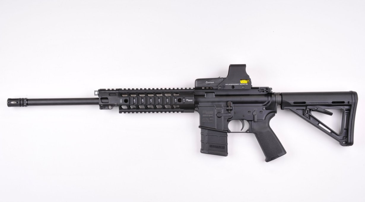 SIG-Sauer 516 semiautomatic carbine in .223 caliber
