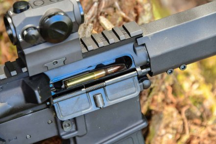 Impingement gas operating system of the SIG Sauer M400 TREAD rifle