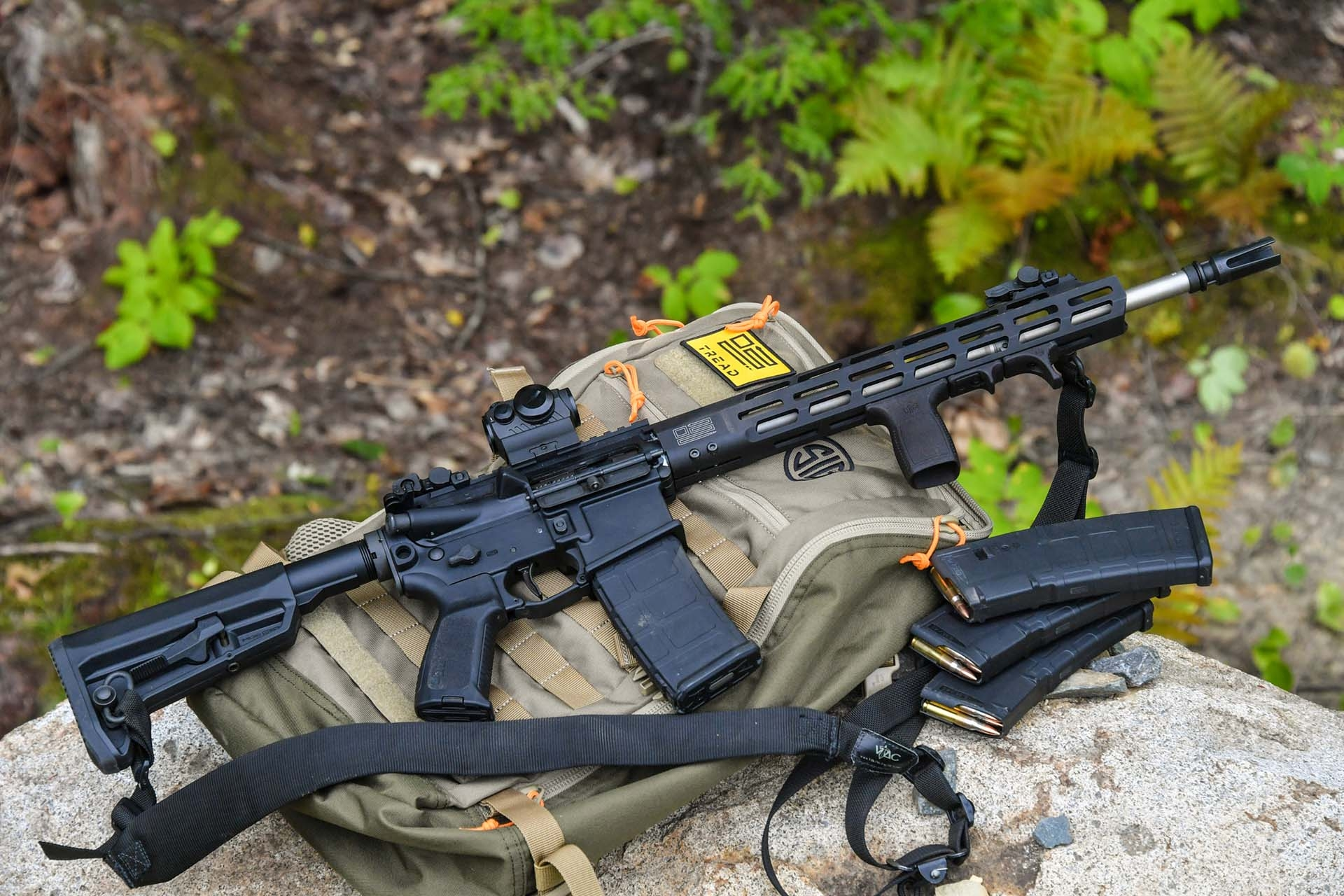 sig-sauer: SIG Sauer M400 TREAD rifle - first shooting test and exclusive video