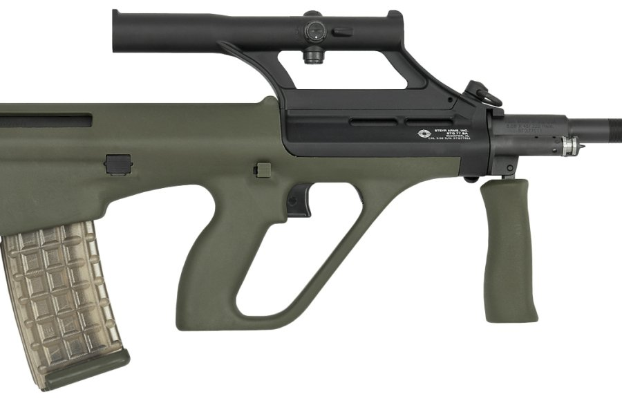 The limited-edition STG 77 SA rifle