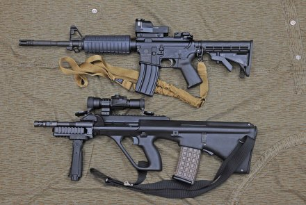 AUG and M4