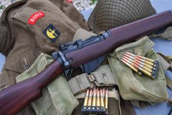 The Rifle No.4 Mk I* in .303 caliber equipped the British and Commonwealth forces