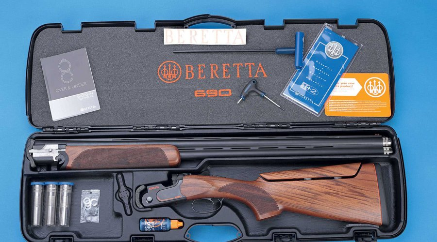 Sporting shotguns Beretta 690 Competition Black Sporting AS with OCHPe chokes and accessories in the case