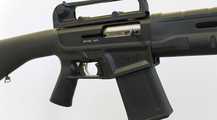 Concern Kalashnikov offers the Baikal MP-155K 12-gauge semi-automatic shotgun