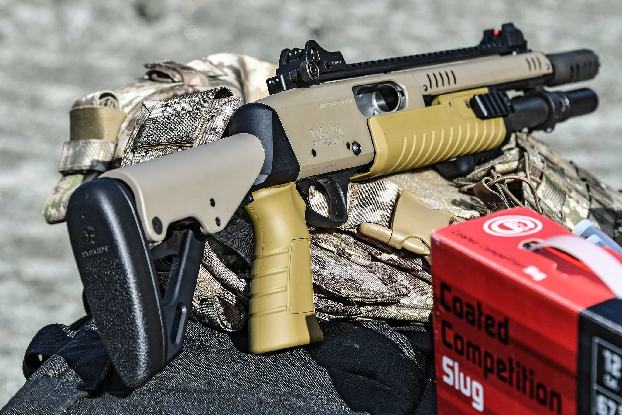 FABARM STF 12 Telescopic FE Professional Shotgun