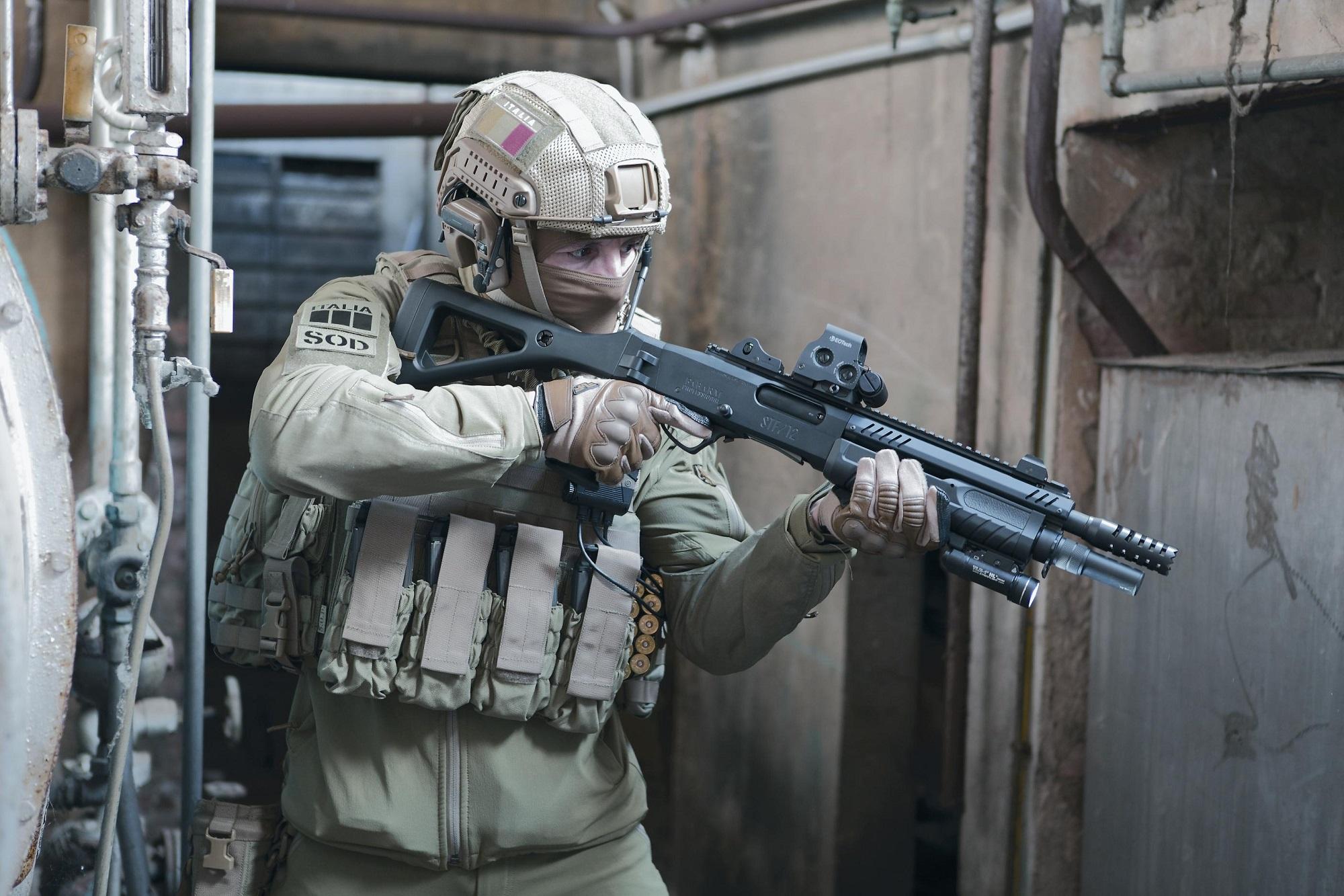 Fabarm STF 12 Modular Pump Action Shotgun System
