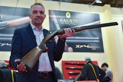 The new Fausti XF4 over/under competition shotgun