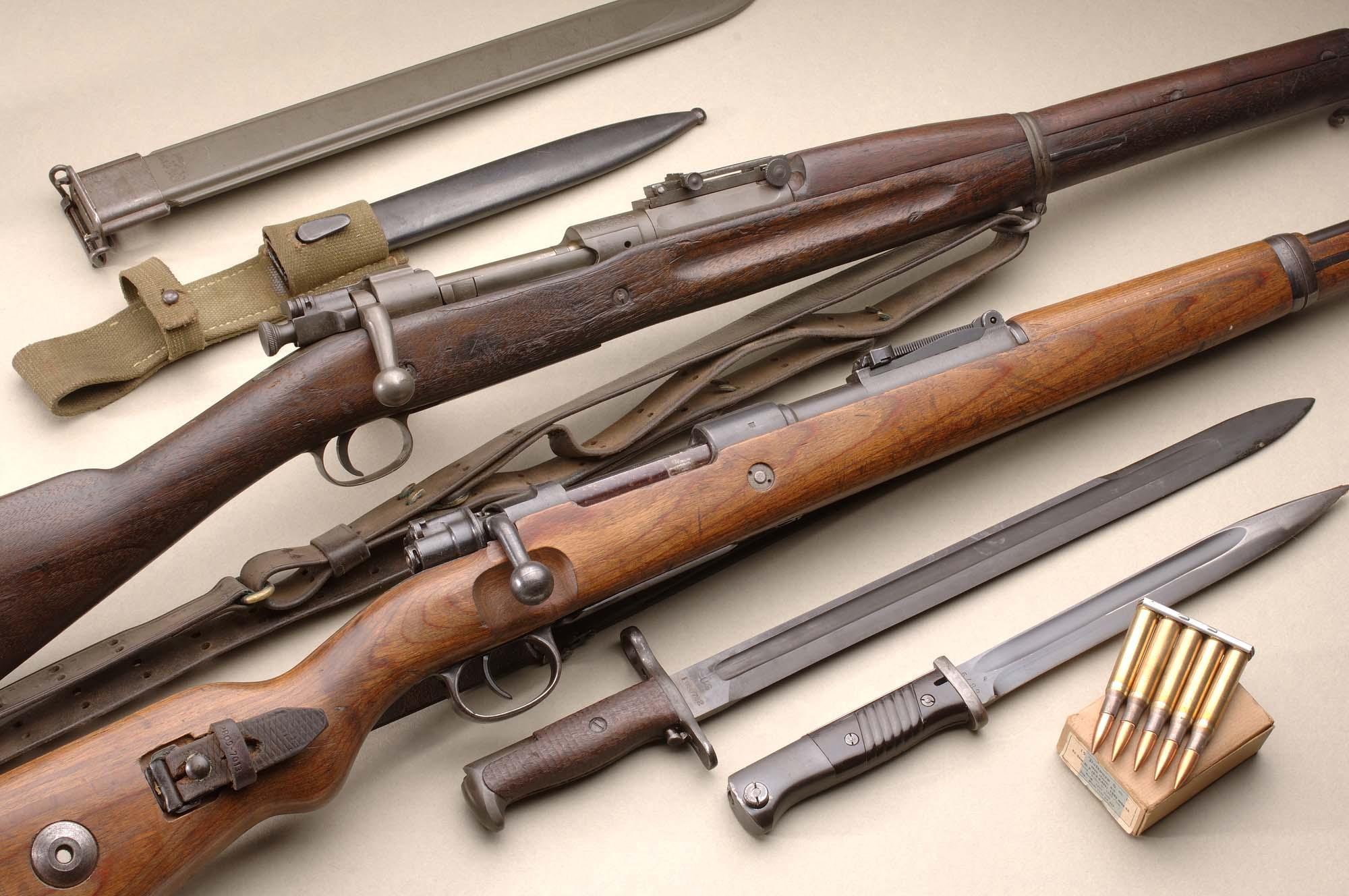 Mauser k98 vs springfield 1903 confronto fucili armi for Costo della costruzione del fucile da caccia