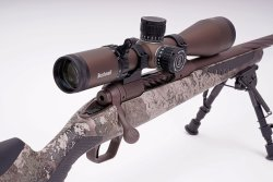 Ottica Bushnell Forge 4.5-27x50 su Savage 110 High Country