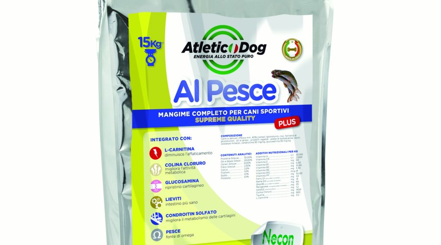 Sacco Atletic Dog Plus al pesce