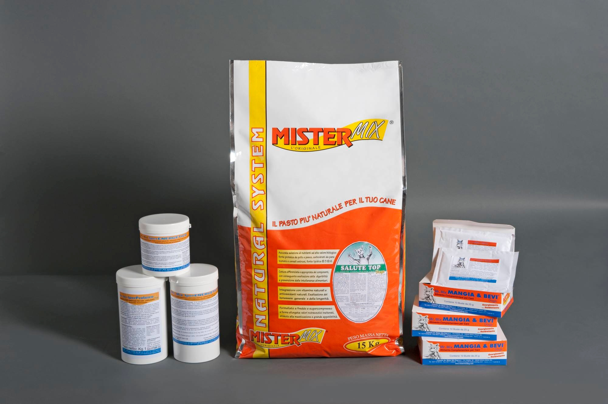 mister-mix-dog: Mister Mix Dog: alimenti complementari