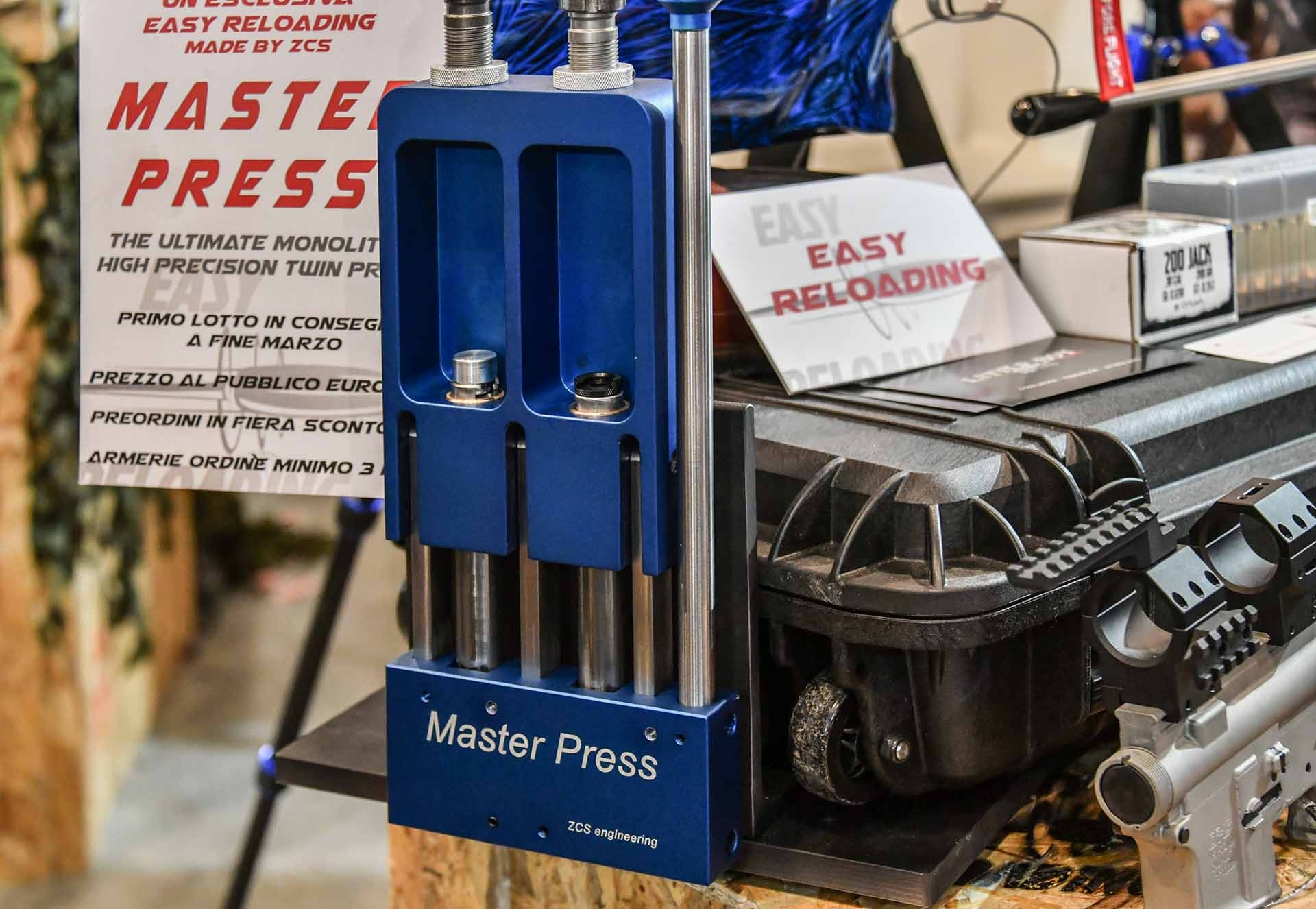 accessori: Pressa monolitica Master Press da Easy Reloading