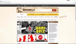 Sito web Brownell's