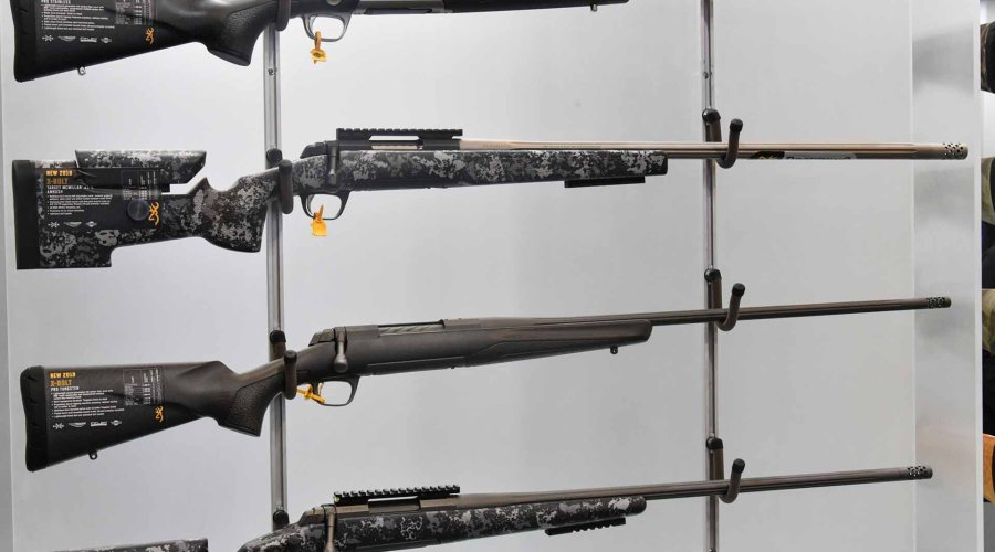 Browning X-Bolt Max Long Range in esposizione allo SHOT Show 2019