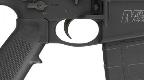 Smith & Wesson M&P10 sport rifle in .308 Win with ambidextrous Bolt, magazine, and safety controls.