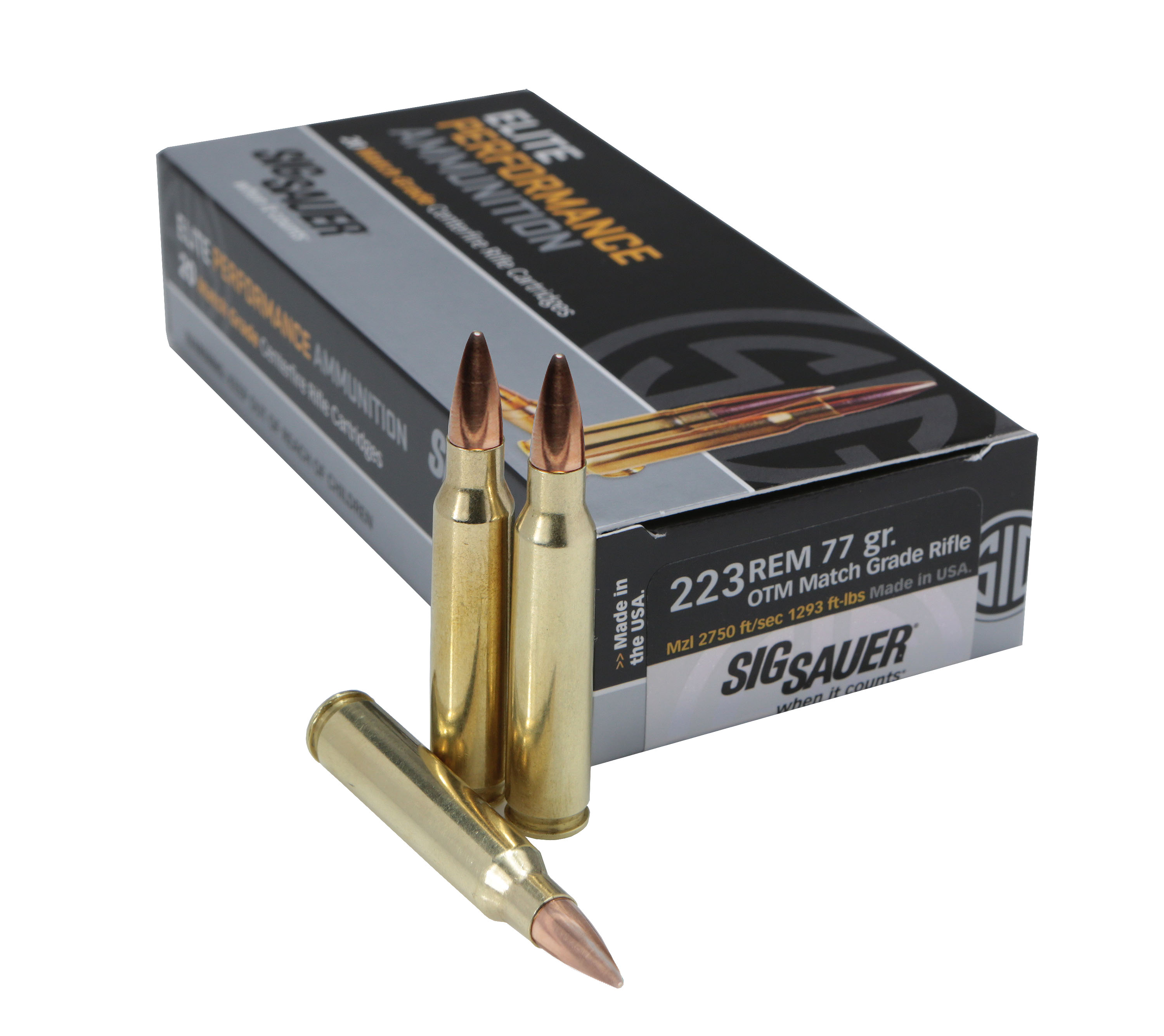 SIG Sauer Match Grade Elite Performance .223 Remington