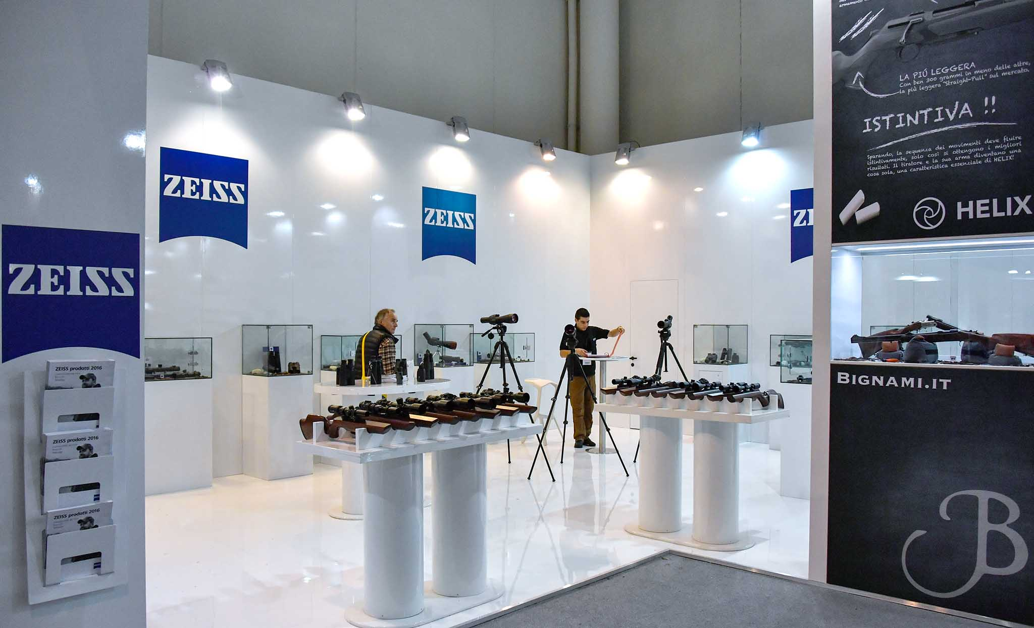 Stand Carl Zeiss