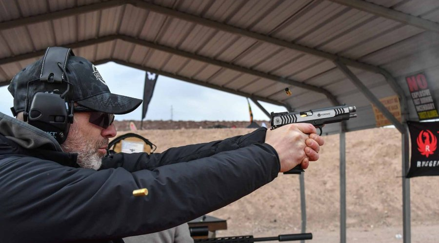 Ruger SR1911 Competition in 9 mm Luger