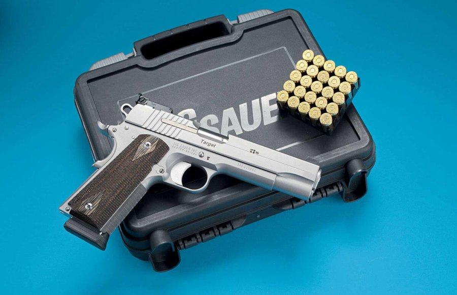 Pistola SIG Sauer 1911 Stainless Target