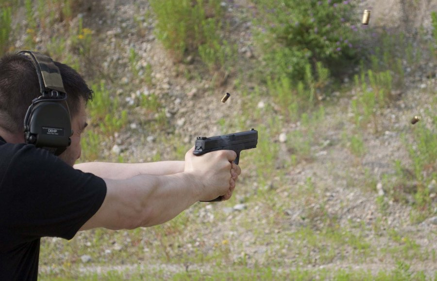 Prova di tiro rapido con Smith & Wesson M&P9