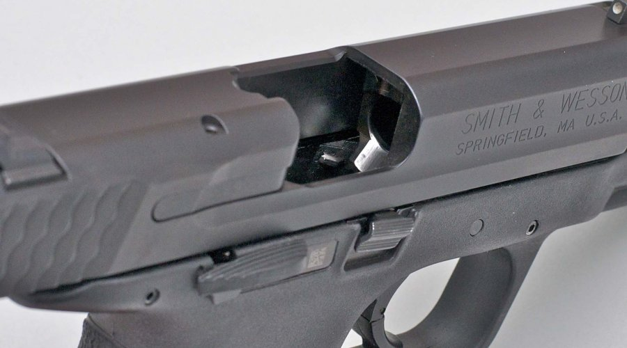 Camera di cartuccia della pistola Smith & Wesson M&P9