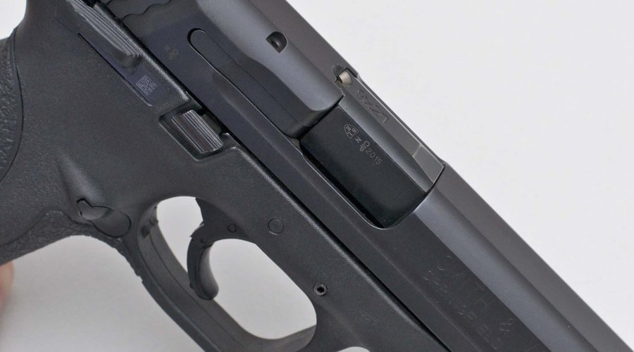 Finestra espulsione della Smith & Wesson M&P9
