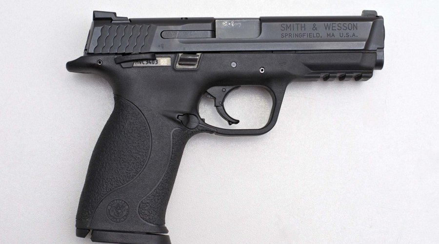 Smith & Wesson M&P9 lato destro