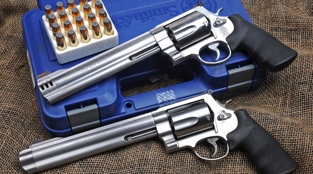 Revolver Smith & Wesson 500