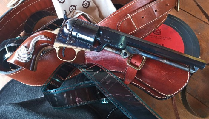 "uberti: UBERTI 1851 Navy Richards conversion ""The Good"" replica"
